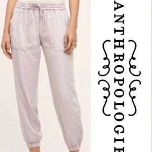ANTHRO Hei Hei Lyocell Lilac Midland Joggers